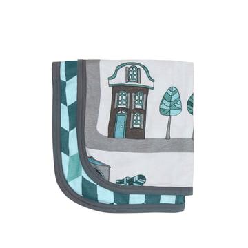 Baby Blanket Village by Sebra for boys