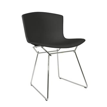 Knoll - Bertoia Plastic Chair in black