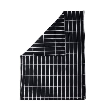 Tiiliskivi duvet cover 140 x 200cm by Marimekko in black / white