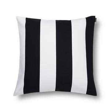 Marimekko - Juhlaraita Cushion Cover 50 x 50 cm, black / white