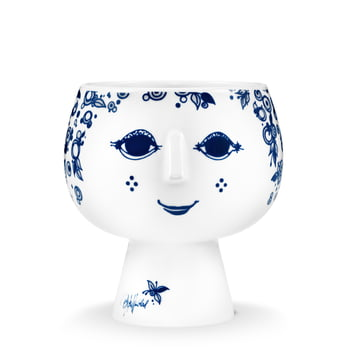 Bjørn Wiinblad - Pot plant holder with base Juliane, Ø 13.4 cm, blue
