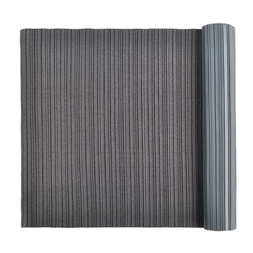 Iittala X Issey Miyake - table runner 2 m pleated, dark gray
