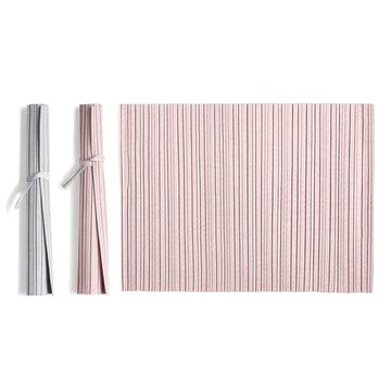 Iittala X Issey Miyake - table mat 36 x 48 cm, pink / light grey