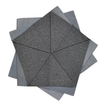 Iittala X Issey Miyake - table flower Ø 27 cm, dark grey