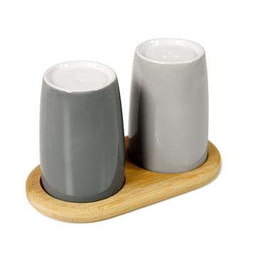 Stelton - Emma Salt and Pepper Shakers, grey