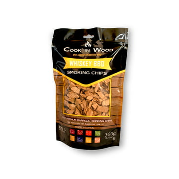 Whiskey BBQ Smoking Chips (360 G Package) By Cook In Wood