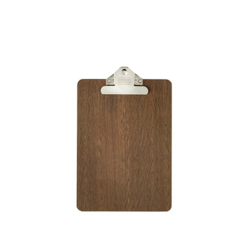 Clipboard A5 made of smoked oak by ferm Living