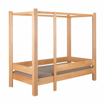 Four-poster bed debe.destyle by de Breuyn, natural