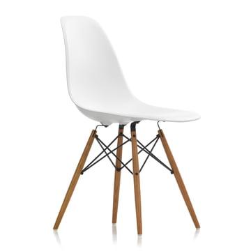 Vitra - Eames Plastic Side Chair DSW, ash honey / white