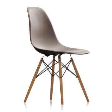 Vitra - Eames Plastic Side Chair DSW, ash honey / mauve grey