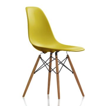 Vitra - Eames Plastic Side Chair DSW, ash honey / mustard