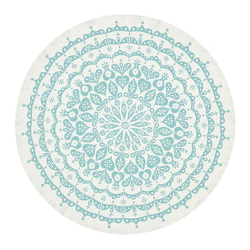 Tablecloth Lace by Vitra in grey/blue