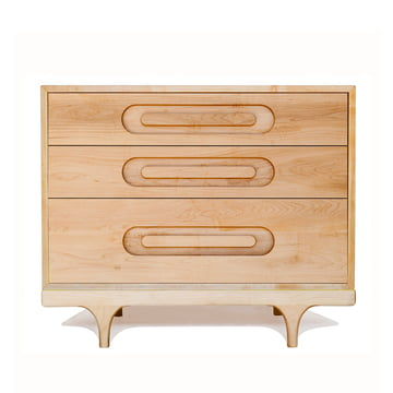 Caravan Dresser by Kalon made from maple