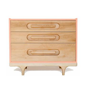 Caravan Dresser by Kalon in pink