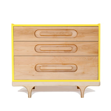 Caravan Dresser by Kalon in yellow