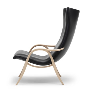 FH429 Signature Chair by Carl Hansen made of oak oiled in leather THOR 301