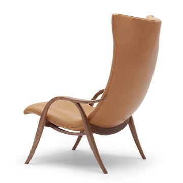 FH429 Signature Chair by Carl Hansen made of oak oiled in leather SIF 95