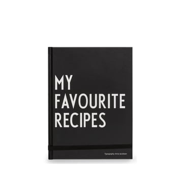 My Favourite Recipes Book by Design Letters