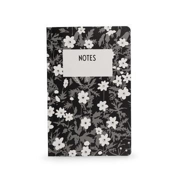 AJ Vintage Flowers Notebook in L by Design Letters