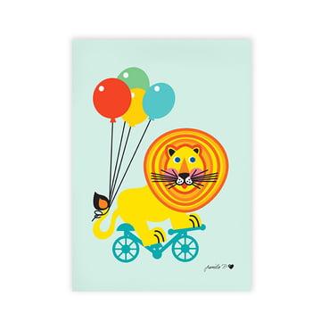 Art print Circus Lion by byGraziela