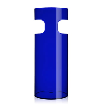 Portaombrelli Umbrella Stand by Kartell in transparent blue