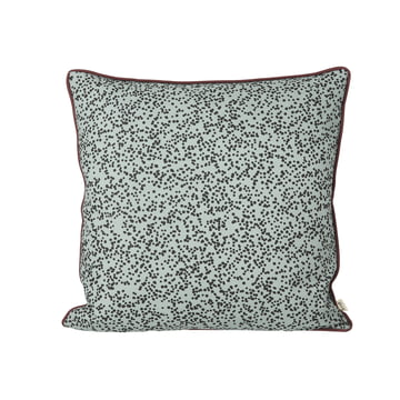 Dottery Cushion 50 x 50 cm by ferm Living in powder blue