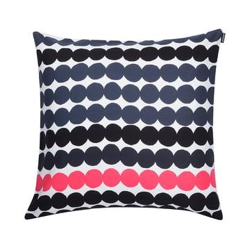 Marimekko - Räsymatto Cushion Cover 50 x 50 cm, black / white / pink