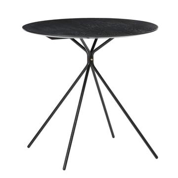 Herman Café Table by ferm Living in Black
