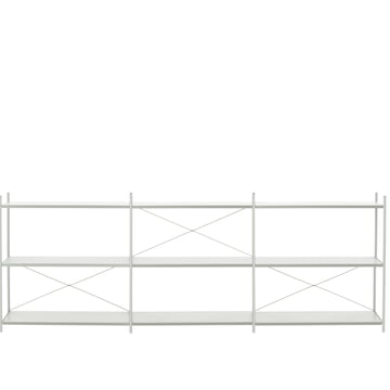 Punctual Shelving System 3x3 by ferm Living in Grey