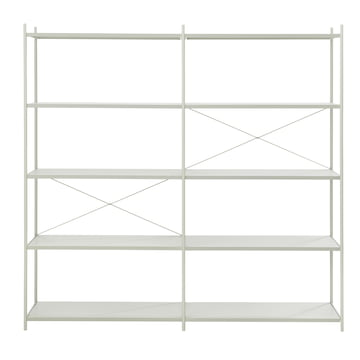 Punctual Shelving System 2x5 by ferm Living in Grey