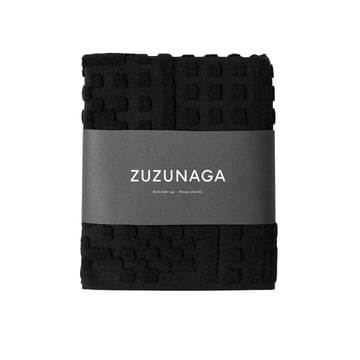 Route Bathroom Mat 50 x 80 cm by Zuzunaga in black