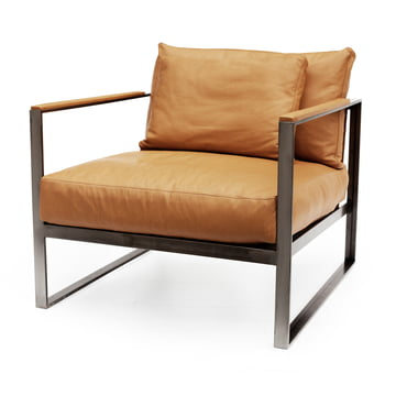 Monaco Lounge Chair by Röshults made of Iron