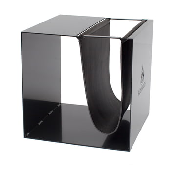 Broome Sideboard by Röshults in black with black leather