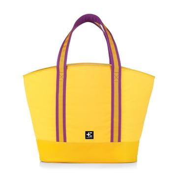 Rau Kopu Beach Bag by Terra Nation in yellow