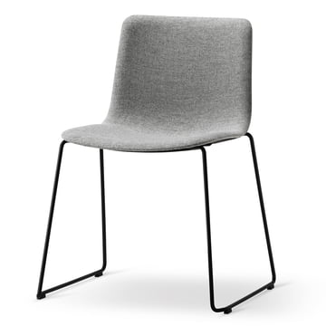 Pato Sledge Chair by Fredericia in Remix 143 / Black