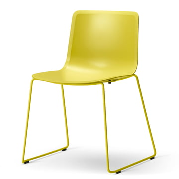 Pato Sledge Chair by Fredericia in Yellow