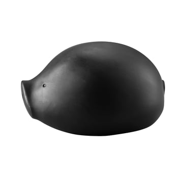 The Roro money box with lock in black by Rosenthal