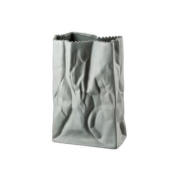 Rosenthal - Paper Bag Vase, 18cm, stone grey