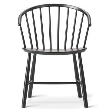 J64 Chair by Fredericia in Black Beech