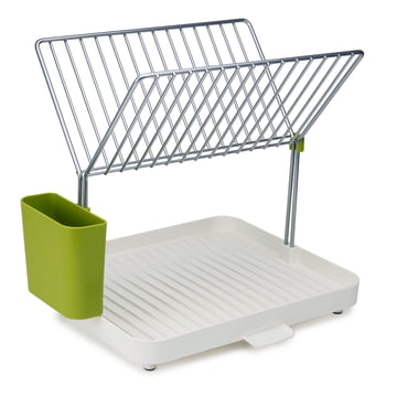 Y-Rack Draining Rack by Joseph Joseph in White and Green