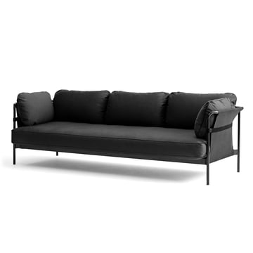 Hay - Can Sofa, 3-Seater, grey / canvas grey / canvas grey