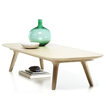 Coffee Table with Soft, Rounded Corners