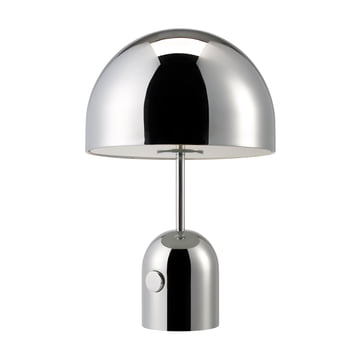 Tom Dixon - Bell Table Lamp, chrome, switched off