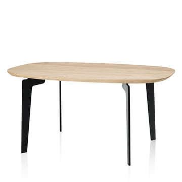 Join FH 21 Couch Table by Fritz Hansen made of natural oak