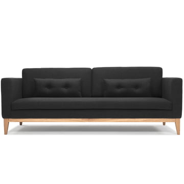 The Day Sofa by Design House Stockholm in dark grey