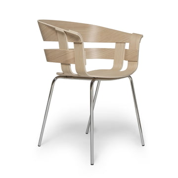 Wick chair by design house stockholm in the shop for Stuhl metallbeine