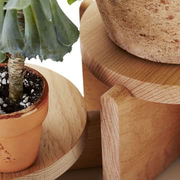 Areaware - Plant Pedestal set
