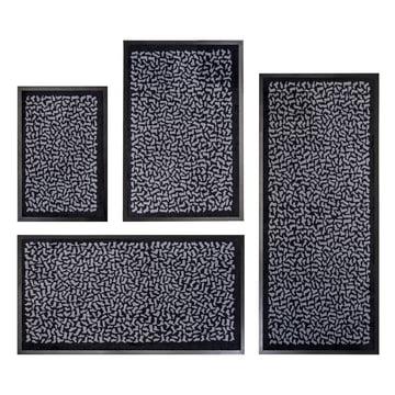Floor mat runner Footwear by tica copenhagen in black and grey