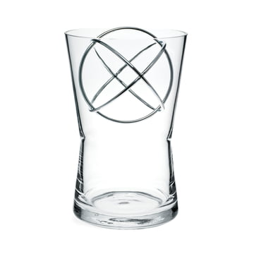 Sphere Vase Medium by Born in Sweden in stainless steel