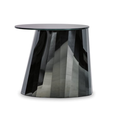ClassiCon - Pli Side Table, onyx black shiny